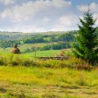 Stock Photo: Rural mountain landscape
