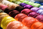 Farbe-threads — Stockfoto