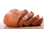 Rye bread isolated — 图库照片