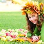 Autumn girl — Stock Photo #6055188