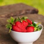 Strawberry outdoor — Stock Photo #6055241