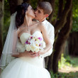 Wedding couple outdoor — Stock Photo #6055804