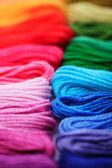 Rainbow floss — Stock Photo