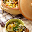 Stock Photo: Stewed vegetables