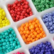 Beads in boxes — Foto de Stock