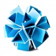 Origami snapology - Foto de Stock  