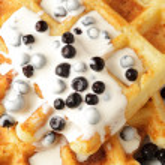 Waffle — Stock Photo #6461579