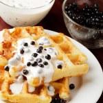 Waffle — Stock Photo #6461584