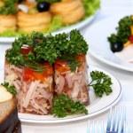 taze ve lezzetli yemekler — Stok fotoğraf