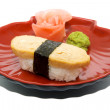 Japan traditional food - sushi — Stock Photo #6332332