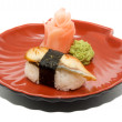 Japan traditional food - sushi — Stock Photo #6332342