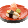 Japan traditional food - sushi — Stock Photo #6332848