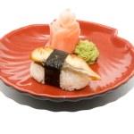 Japan traditional food - sushi — Stock Photo