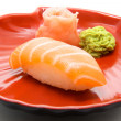Japan traditional food - sushi — Stock Photo #6333006