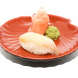 Japan traditional food - sushi — Stock Photo #6333044