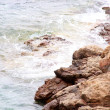 Waves on the Greek seashore — Stock Photo #6333483