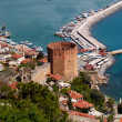 Stock Photo: Kizil Kule (Red Tower), inTurkish city of Alanya