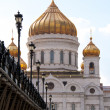 The Cathedral of Christ the Savior, Moscow 2011, Russia — Stock Photo #6336749