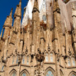 Stock Photo: BARCELONA, SPAIN - May 23: LSagradFamili- impressive c