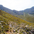 High mountain and Rocks in Greece Rhodes — Stock Photo #6338131