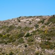 High mountain and Rocks in Greece Rhodes — Stock Photo #6338277