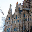 BARCELONA, SPAIN - May 23: La Sagrada Familia - the impressive c — Stockfoto