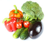 Fresh and juicy vegetables — Stock Photo