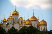 The Annunciation cathedral (left) and the Assumption cathedral ( — Stock Photo