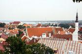 View on old city of Tallinn, Estonia — Stock Photo