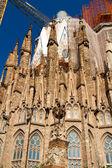 BARCELONA, SPAIN - May 23: La Sagrada Familia - the impressive c — Stock Photo