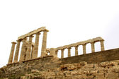 The Temple of Poseidon at Sounion Greece — Stock Photo