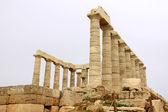 Poseidontemplet soúnion grekland — Stockfoto