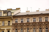 Old Prague city view - old buildings — Stock Photo