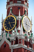 The Saviour (Spasskaya) Tower of Moscow Kremlin, Russia. — Stock Photo