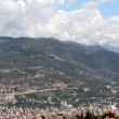 Alanya city hill, sea coast, Turkey — Stock Photo #6342336