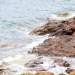 Waves on the Greek seashore — Stock Photo #6342571
