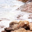 Waves on the Greek seashore — Stock Photo #6343603