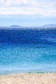 красивый греческий пейзаж моря — Стоковое фото