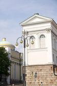 Tuomiokirkko cathedral Helsinki. Finland — Stock Photo