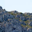 High mountain and Rocks in Greece Rhodes — Stock Photo #6386716