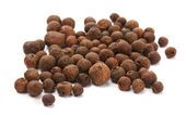 Black pepper, black peppercorn, indian spice — Stock Photo