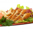Delicious japanese sashimi — Stock Photo #6610915