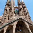 BARCELONA, SPAIN - May 23: La Sagrada Familia - the impressive c — Stock Photo