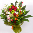 Stock Photo: Closeup shot of colorful bouquet
