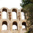 Ncient theatre of Herodes Atticus is a small building of ancient — Stock Photo #6618666