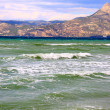Waves on the Greek seashore — Stock Photo #6619590