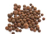Black pepper, black peppercorn, indian spice — Foto de Stock