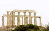 Temple of Poseidon at Cape Sounion near Athens, Greece — Stock Photo