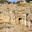 Archaeological Dig Site at Apollo Temple, Corinth, Greece. — Stock Photo #6620064