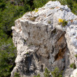 High mountain and Rocks in Greece Rhodes — Stock Photo #6623071